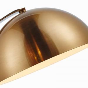 Lampada da tavolo moderna moderna in metallo dorato Lampada da scrivania color metallo Decorazione Lampe creativa E27 Lampadina a led 3W Nordic Light