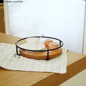 Vassoio portaoggetti in legno per desktop