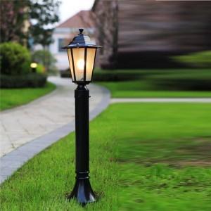 Strassenbeleuchtung Streetlight Eclairage Exterior Giardino Lampadaire Solar Lampione Decor Uliczna Off Road Street Light