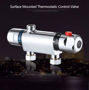 Rubinetto miscelatore termostatico per rubinetto doccia termostatico a parete