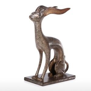 Statua animale in alluminio Animale mitologico Scultura Tavolo contemporaneo Scultura d'arte Scultura per la casa Decorazioni Mestieri