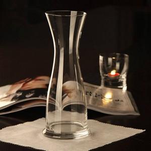 Vaso in vetro trasparente vaso luckybamboo Grande decorazione per la casa di nozze