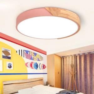 plafoniere a LED ultrasottili a soffitto per i lampadari del soggiorno Soffitto per la hall moderna plafoniera alta 5 cm