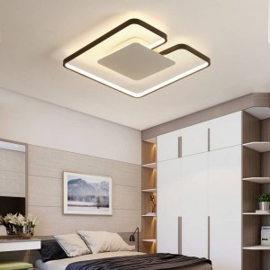 plafoniere a LED ultrasottili in ferro per i lampadari del soggiorno Apparecchio a soffitto per la moderna lampada da soffitto alta 6 cm