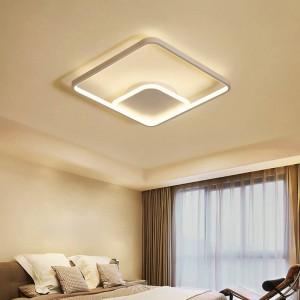 Lampade a soffitto triangolari ultrasottili lampade per soggiorno camera da letto lustri de sala casa dicembre LED Lampadario a soffitto