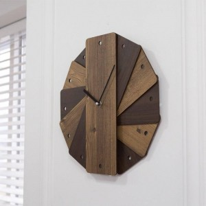 Orologio da parete da giardino vintage soggiorno creativo decorazione da parete rotonda camera da letto orologio da parete muto orologio da parete shabby chic