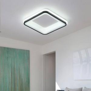 Plafoniere moderne moderne a LED bianche / nere finlandesi creative luminaria LED teto singolo soggiorno decorazione della casa AC85-260V