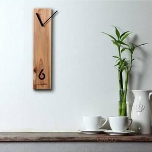 Orologio in legno Orologio in legno creativo Orologio di registro Design silenzioso Orologio da parete per soggiorno Tavolo da riunione per ufficio