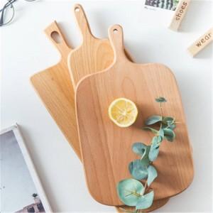 Taglieri in legno Faggio Pizza Pane Frutta Verdura Tagliere Impilabile Durevole Antiscivolo Utensili da cucina per la casa Accessori