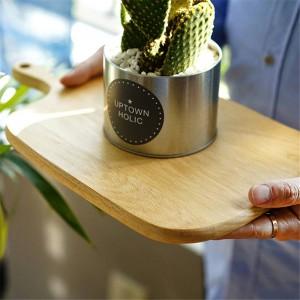 Taglieri in legno Faggio Noce Pizza Pane Frutta Formaggio Appeso Tagliere Resistente Antiscivolo Utensili da cucina Accessori