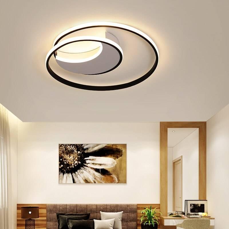 Lusso Plafoniere a LED moderne dimmerabili rotonde di ...